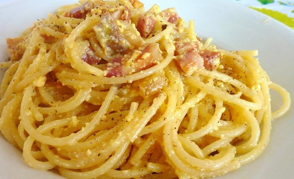 la vera ricetta spaghetti alla carbonara